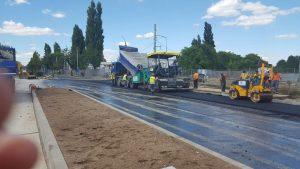 Read more about the article Asfaltare secțiune de drum aferentă magistralei de metrou M4